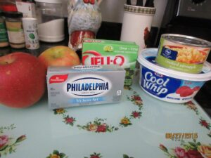 Fuji Apple Jell-O Recipe 1
